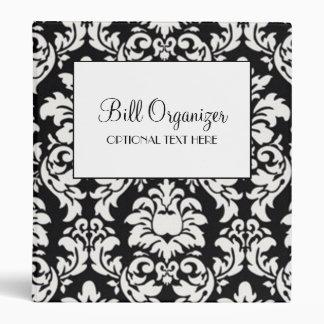 Bill Organizer 3 Ring Binder