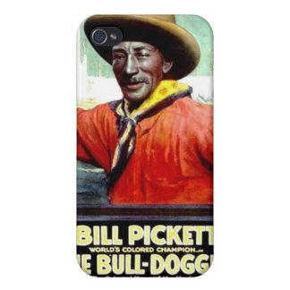 """Bill Pickett en caso del iPhone """"de la Bull-Dogger iPhone 4 Cobertura"""