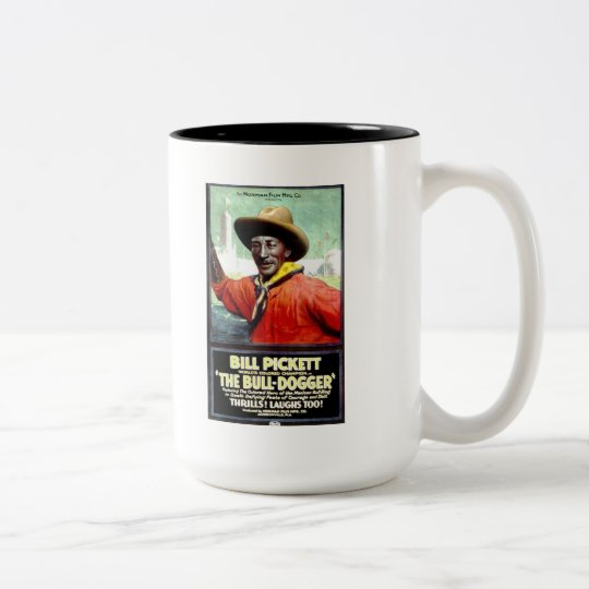 "Bill Pickett in ""The Bull-Dogger""  Mug"