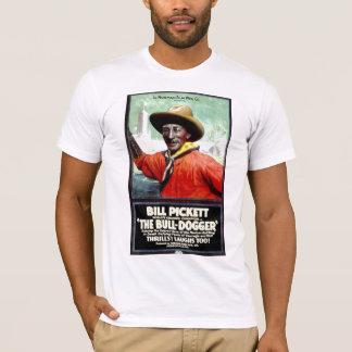 """Bill Pickett in """"The Bull-Dogger"""" Tee Shirt"""