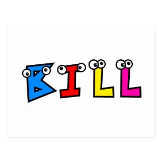 Bill Postcard