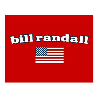 Bill Randall for America Postcard