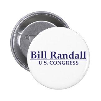 Bill Randall for Congress Pinback Button
