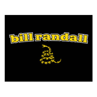 Bill Randall Gadsden Snake Postcard
