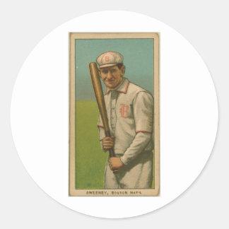 Bill Sweeney, Boston Doves Classic Round Sticker