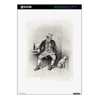Bill Sykes and his dog, from 'Charles Dickens: A G iPad 3 Skins