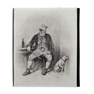Bill Sykes and his dog, from 'Charles Dickens: A G iPad Folio Case