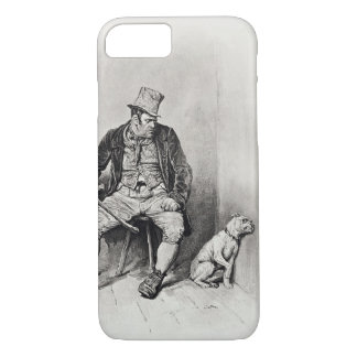 Bill Sykes and his dog, from 'Charles Dickens: A G iPhone 7 Case