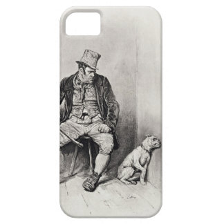 Bill Sykes and his dog, from 'Charles Dickens: A G iPhone SE/5/5s Case
