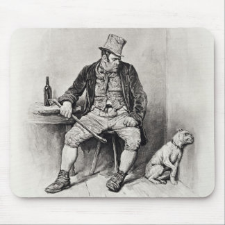 Bill Sykes and his dog, from 'Charles Dickens: A G Mouse Pad