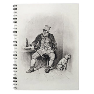 Bill Sykes and his dog, from 'Charles Dickens: A G Note Books