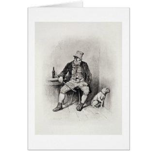 Bill Sykes y su perro, de 'Charles Dickens: UN G Tarjeton