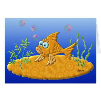 Bill The Fish Card