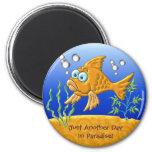 Bill The Fish Fridge Magnets