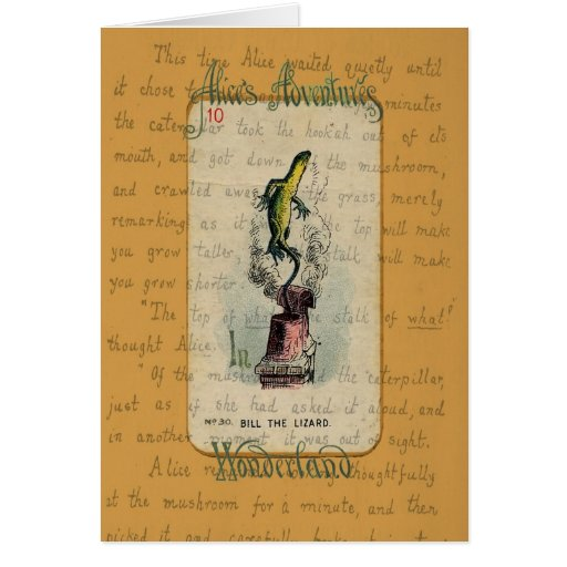 Bill the Lizard Greeting Card