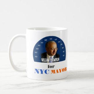 Bill Thompson for NYC Mayor 2009 mug