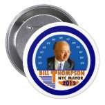Bill Thompson for NYC Mayor in 2013 Pins