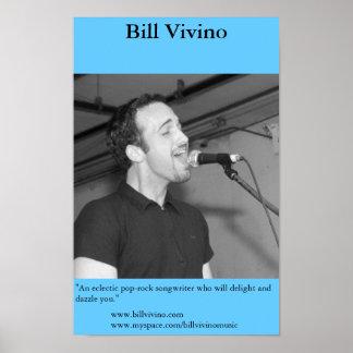 Bill Vivino Poster