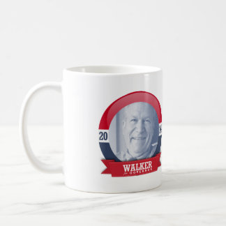 BILL WALKER CAMPAIGN CLASSIC WHITE COFFEE MUG