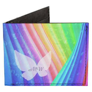 Bill y cartera de la tarjeta, diseño con monograma billeteras tyvek®