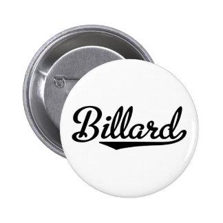 billard pinback button