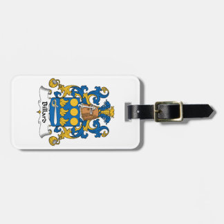 Billard Family Crest Tag For Bags