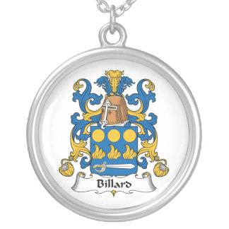 Billard Family Crest Custom Jewelry