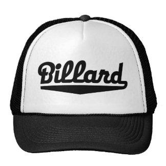 billard mesh hat