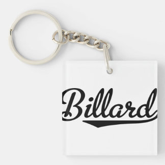 billard acrylic keychain