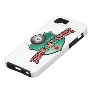 billard - that's my sport iPhone SE/5/5s case