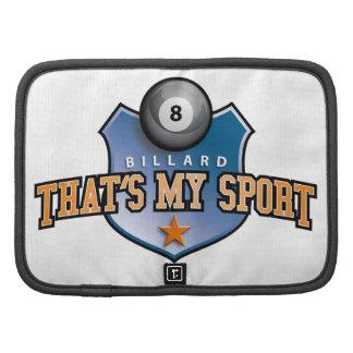 billard - that's my sport planner