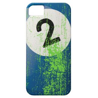 Billardkugel der Schmutz-Art-Zahl-2 iPhone SE/5/5s Case