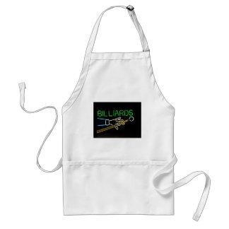 billards adult apron