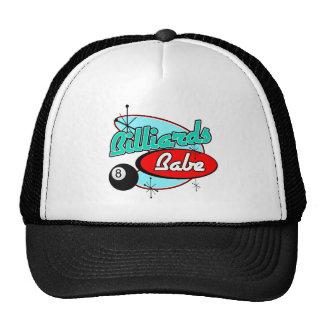 Billards Babe Mesh Hats