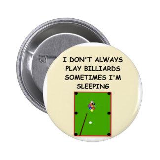billards button