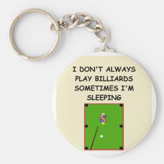 billards keychain