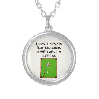 billards necklaces