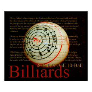 Billards Poster