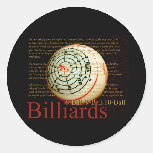 Billards Sticker