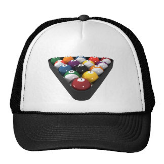 Billares/bolas de piscina atormentadas: gorra