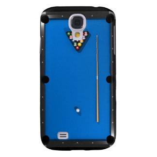 Billares/mesa de billar: Azul sentido: Funda Samsung S4