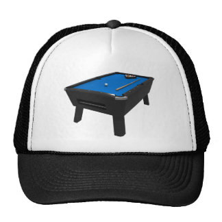 Billares/mesa de billar: Azul sentido: Gorra