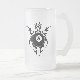 billares. tribal taza de café