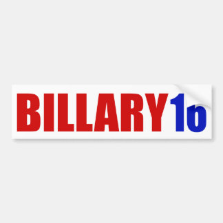 """BILLARY 16"" PEGATINA PARA AUTO"