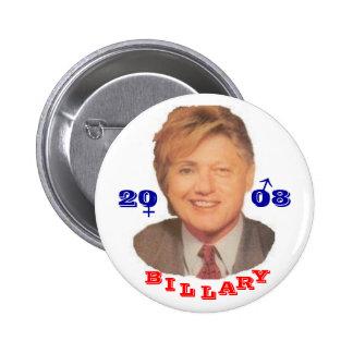 Billary 2008 button