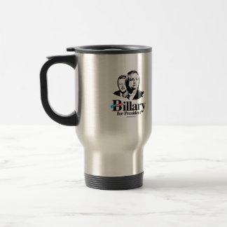 Billary for President Travel Mug