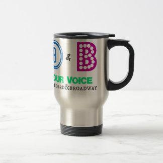 Billboard & Broadway Product Line Travel Mug