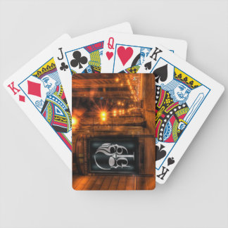 Billboard & City Lights Bicycle Playing Cards