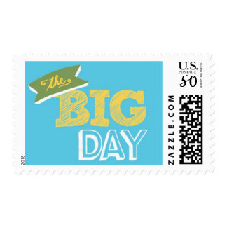 Billboard - The Big Day, Blue, Yellow & Green Postage