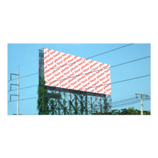 Billboard With Whatever You Want On It Photo Card